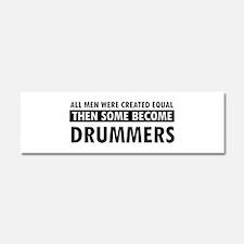 Drummers Designs Car Magnet 10 x 3