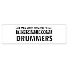 Drummers Designs Car Sticker