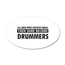 Drummers Designs Wall Sticker