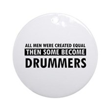 Drummers Designs Ornament (Round)