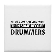 Drummers Designs Tile Coaster