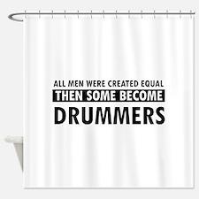 Drummers Designs Shower Curtain