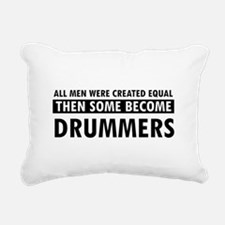 Drummers Designs Rectangular Canvas Pillow