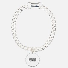 Flautist Designs Charm Bracelet, One Charm