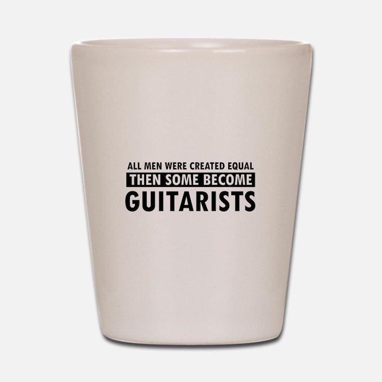 Guitarists Designs Shot Glass
