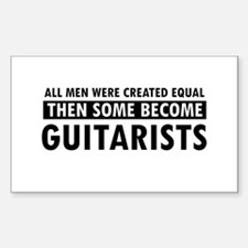 Guitarists Designs Decal