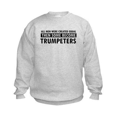Trumpeters Designs Kids Sweatshirt