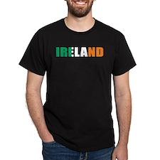Ireland Black T-Shirt