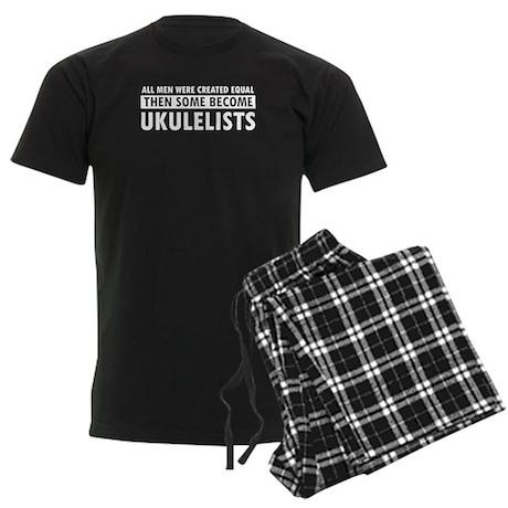 Ukulelists Designs Men's Dark Pajamas