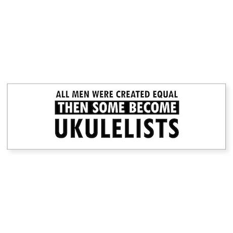 Ukulelists Designs Sticker (Bumper)