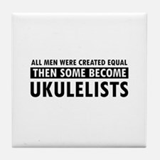 Ukulelists Designs Tile Coaster