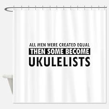 Ukulelists Designs Shower Curtain