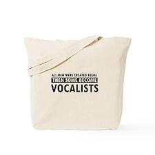 Vocalists Designs Tote Bag