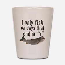 I fish Shot Glass