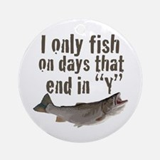 I fish Ornament (Round)