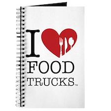 I Love Food Trucks Journal