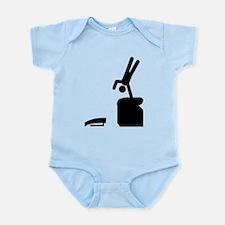 Gymnastic Vault Infant Bodysuit