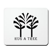 HUG A TREE Mousepad