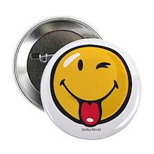 "Smileyworld Playful 2.25"" Button"