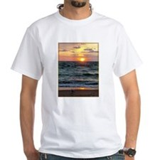 Sunset, seagull, lake, photo Shirt