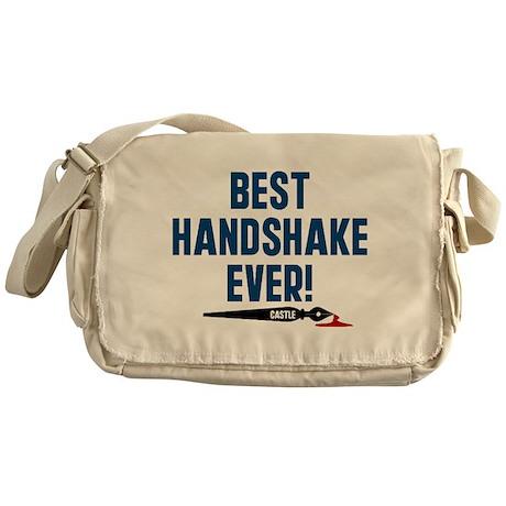 Castle Best Handshake Ever Messenger Bag