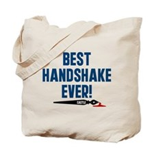 Castle Best Handshake Ever Tote Bag