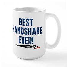Castle Best Handshake Ever Mug