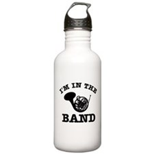 French Horn Gift Items Water Bottle