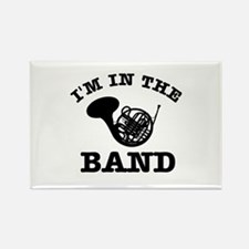 French Horn Gift Items Rectangle Magnet