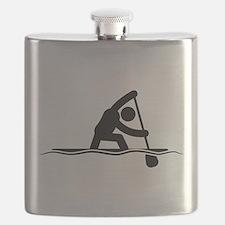 Canoe Sprint Flask