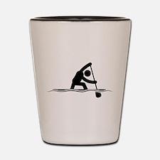 Canoe Sprint Shot Glass