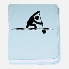 Canoe Sprint baby blanket