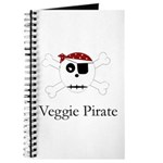 Skull Pirate - Veggie Journal