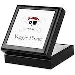 Skull Pirate - Veggie Keepsake Box