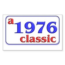 1976 Rectangle Decal