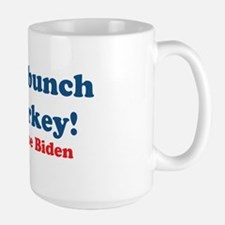 Bunch of Malarkey Biden Quote Large Mug