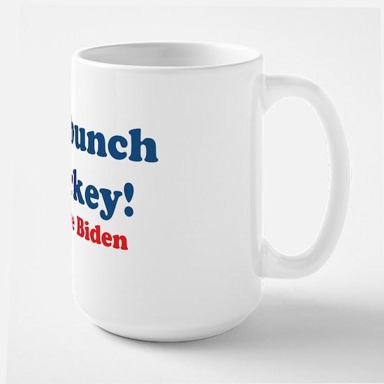Bunch of Malarkey Biden Quote Large Mug