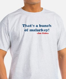 Vintage Joe Biden Malarkey Quote T-Shirt