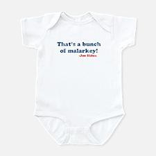 Vintage Joe Biden Malarkey Quote Infant Bodysuit