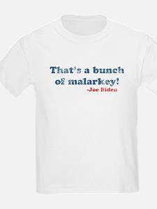 Vintage Joe Biden Malarkey Quote T-Shirt