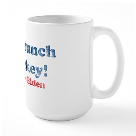 Vintage Joe Biden Malarkey Quote Large Mug