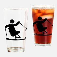 Adaptive Skiing Drinking Glass