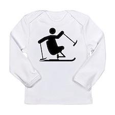 Adaptive Skiing Long Sleeve Infant T-Shirt