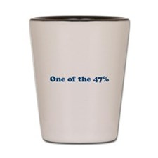 One of the 47% Shot Glass