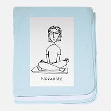 Namaste baby blanket