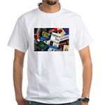 Jazz Matchbooks White T-Shirt