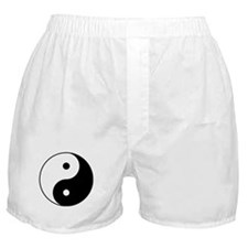 Yin & Yang (Black/White) Boxer Shorts