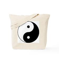 Yin & Yang (Black/White) Tote Bag