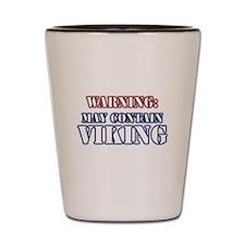 May Contain Viking Shot Glass