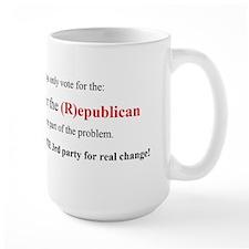 Real change Mug
